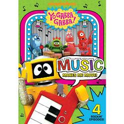 Yo Gabba Gabba Music Makes Me Move DVD