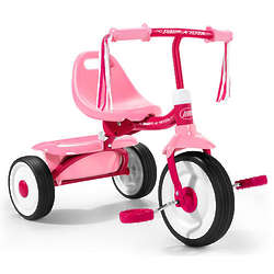 Girl's Fold 2 Go Radio Flyer Tricycle