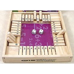 4-Way Countdown Math Game
