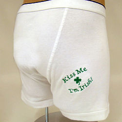 St. Pat Personalized Boxer Briefs