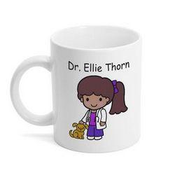 Custom Character Veterinarian Mug
