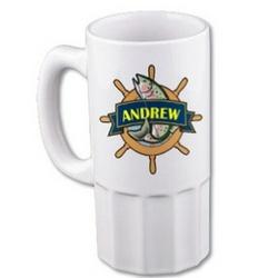 Fishing Beer Mug