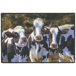 Dairy Queens Cow Doormat