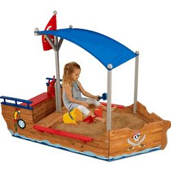 Pirate Sandboat Sandbox