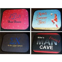 Personalized Car Mats