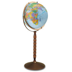 Convertible Treasury Floor Globe