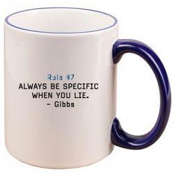 NCIS Gibbs Rule #7 Mug