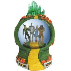 Wizard of Oz Emerald City Musical Waterglobe