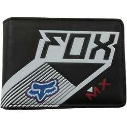 Black Racer Bi-Fold Wallet