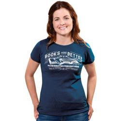Books are Better Fashion Tee