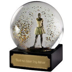 Personalized Dancer Water Globe