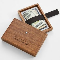Personalized I Stash Wallet