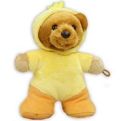 Plush Duck Dressed Bear Balloon Anchor