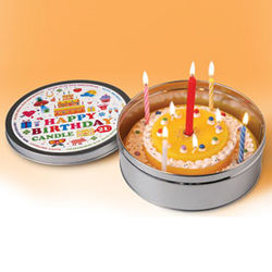Portable Birthday Cake Candle
