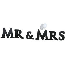 Mr. and Mrs. Yard Sign