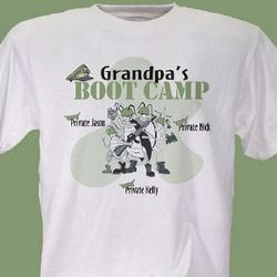 Personalized Boot Camp T-Shirt