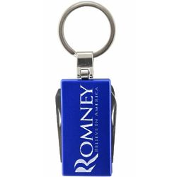 Romney Blue Multi Tool Key Chain