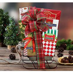 Sweet Sleigh Sampler Gift Bakset