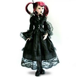 Delilah Noir Dark and Defiant Ball Jointed Doll