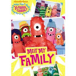 Yo Gabba Gabba! Meet My Family DVD
