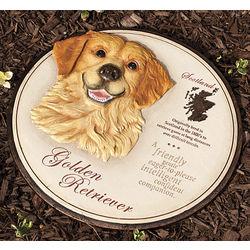 Golden Retriever Companion Dog Wall or Garden Decor