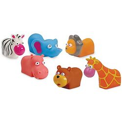 Jungle Animals Squirtees Bath Toys