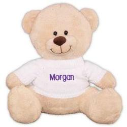 Embroidered Name Teddy Bear