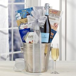 LaMarca Prosecco Sparkling Wine Gift Basket