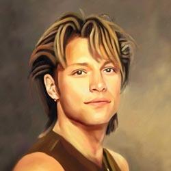 Jon Bon Jovi Limited Edition Fine Art Print