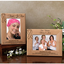Personalized Celebrate Life Wooden Picture Frame