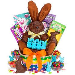 Classic Easter Bunny Gift Basket