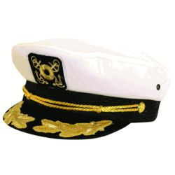 Classic Nautical Captain's Hat
