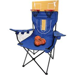 Basketball Boss Giant Portable Chair and Double Shootout Game