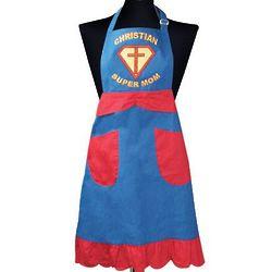 Christian Supermom Apron