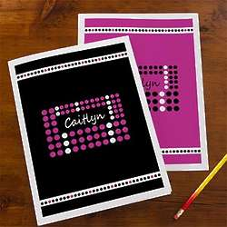 Just Her Style Personalized School Folders