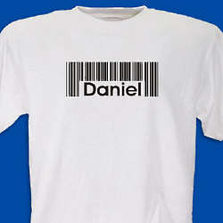 Barcode Name T-Shirt