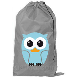 Owl Help With Your Laundry Bag