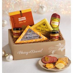Sausage, Cheese and Crackers Box