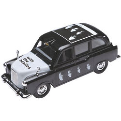 With the Beatles Album Cover Collectible Taxi