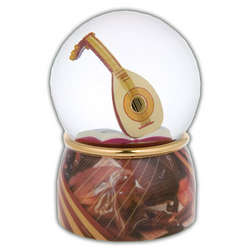 Heavenly Lute Musical Water Globe