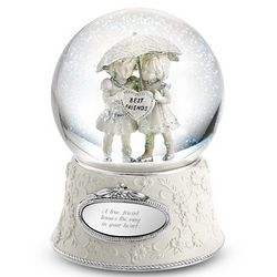 Best Friends Forever Snow Globe