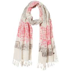 Juniors' Beach Road Cream Scarf