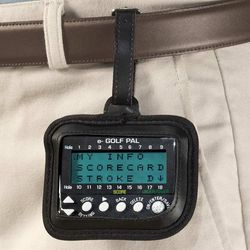 Electronic Golf Scorecard