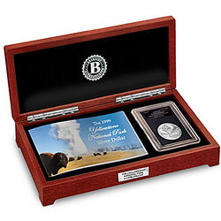 The Yellowstone National Park Commemorative Silver Dollar