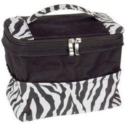 Zebra Print Expandable Bag