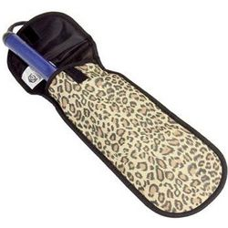 Leopard Print Curling Iron Holder