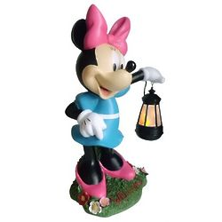 Minnie Mouse Holding Lighted Lantern