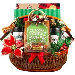 New Winter Wonderland Holiday Gift Basket, Free Shipping!