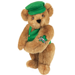 "15"" Kiss Me I'm Irish Bear"