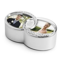Double Rings Keepsake Box